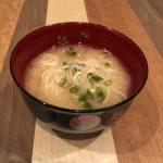 SOMEN miso soup