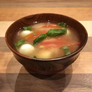 Italian miso soup recipe