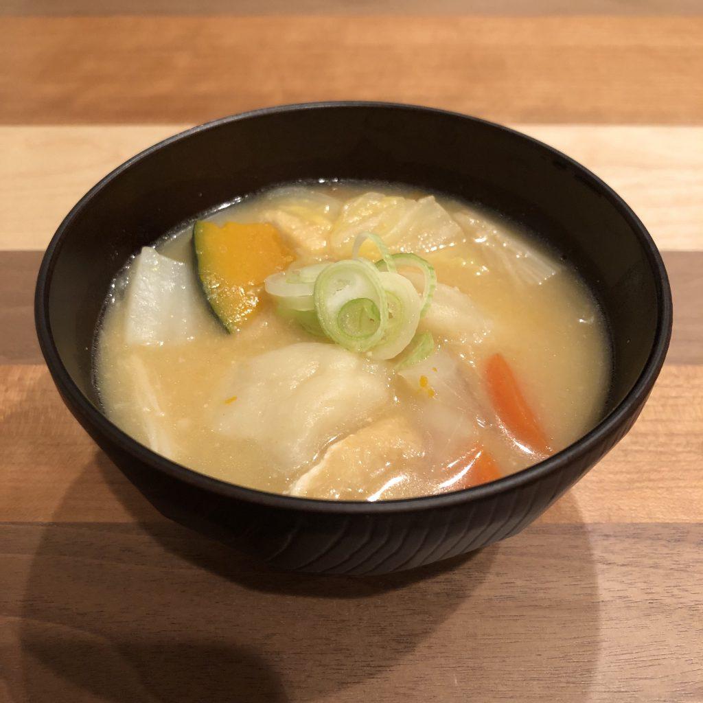 SUI-TON: flour dumplings miso soup