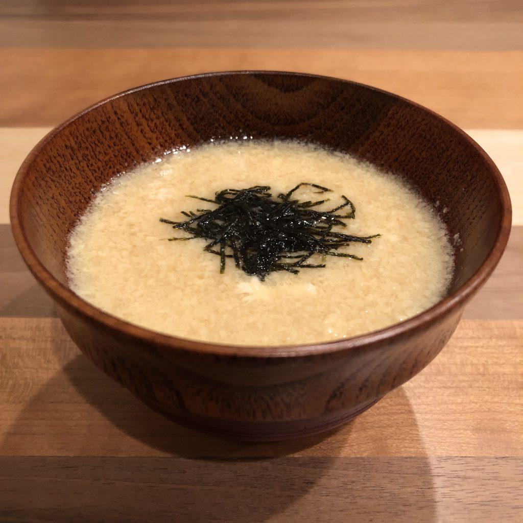 CHINESE YAM miso soup
