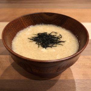Chinese Yam Miso Soup Recipe