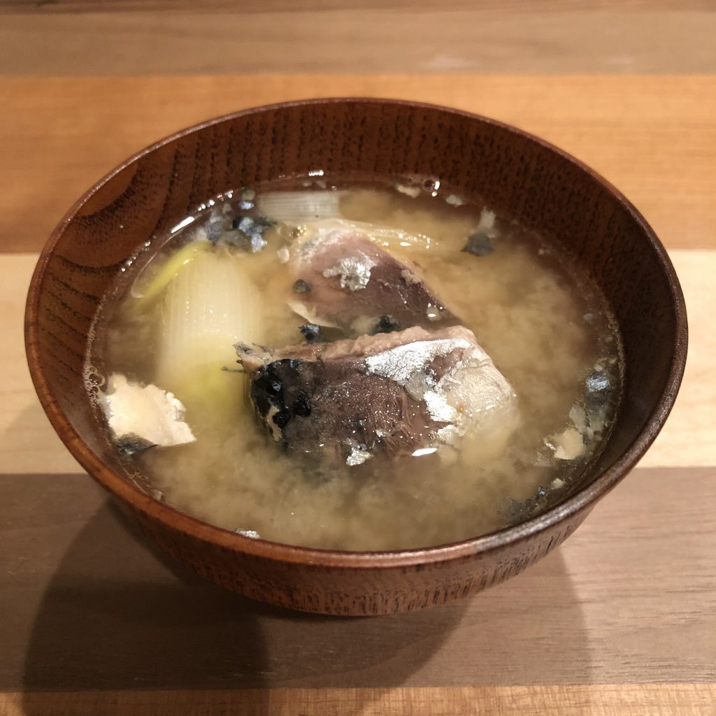 MACKEREL miso soup