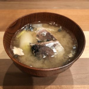Mackerel Miso Soup Recipe