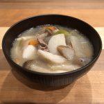 IMONI: taro miso soup