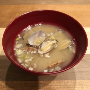 ASARI CLAM miso soup recipe