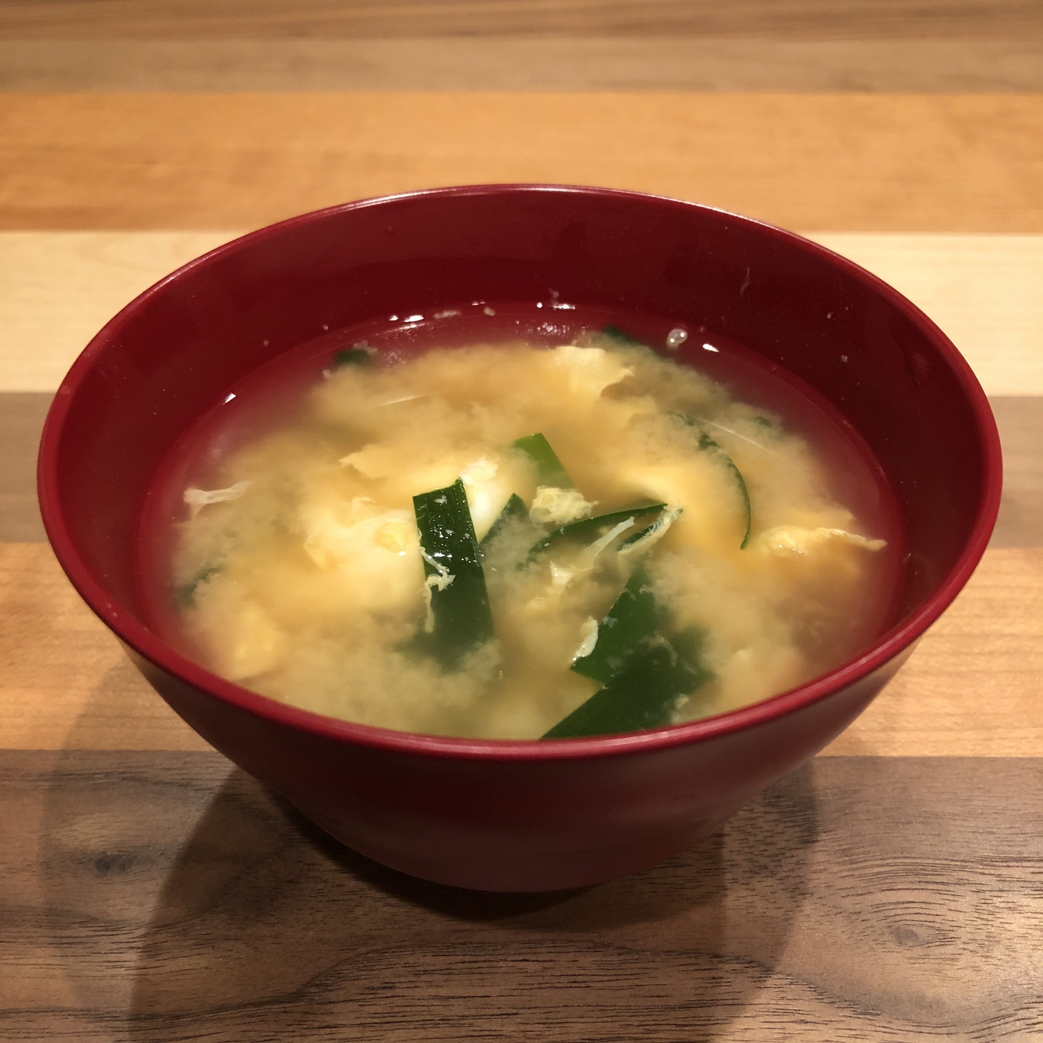 EGG & CHINESE CHIVE miso soup