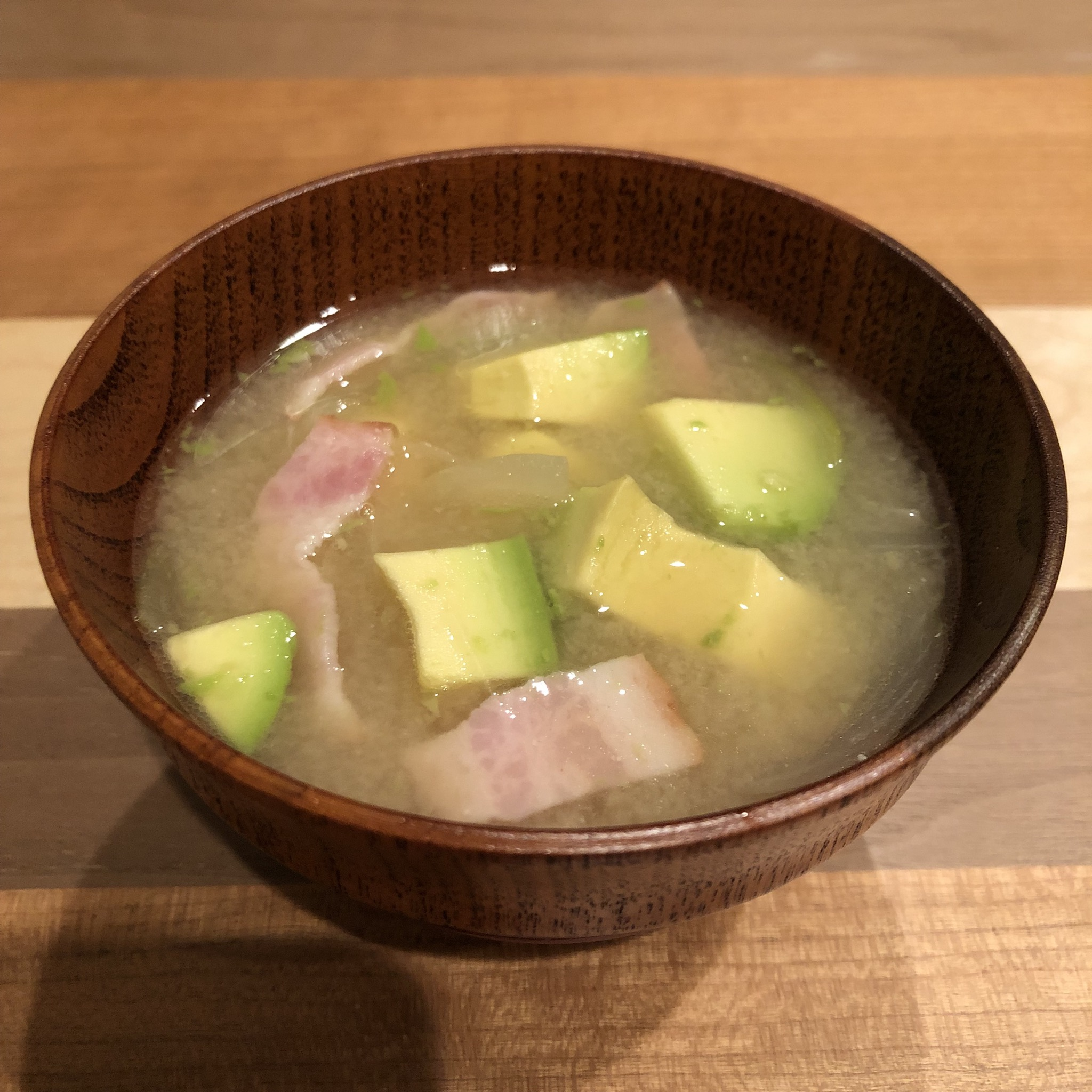 AVOCADO miso soup