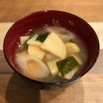BAMBOO SHOOT miso soup