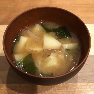 POTATO miso soup recipe