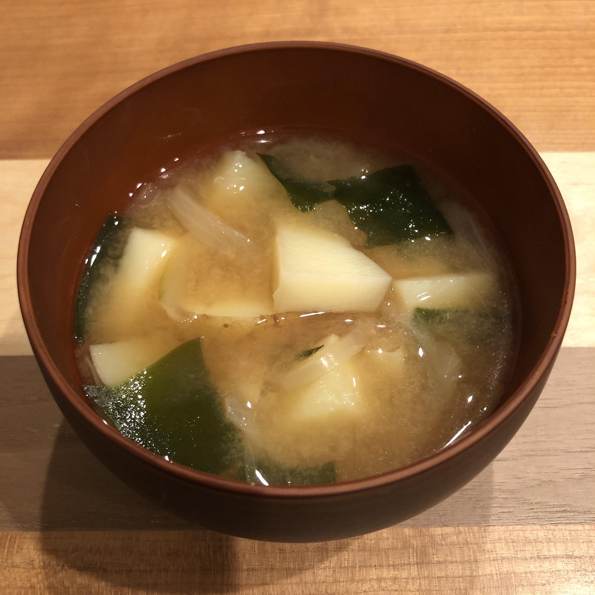 POTATO miso soup