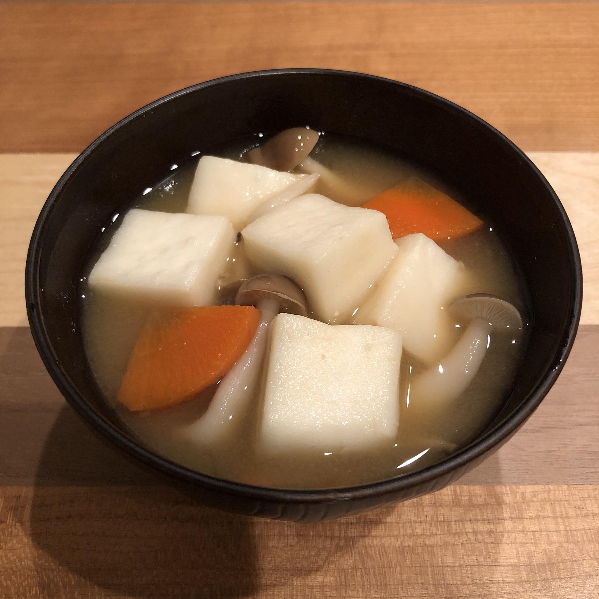 HANPEN miso soup
