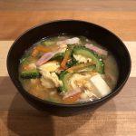 BITTER MELON miso soup