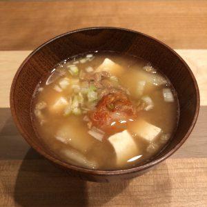 KIMCHI & NATTO miso soup recipe