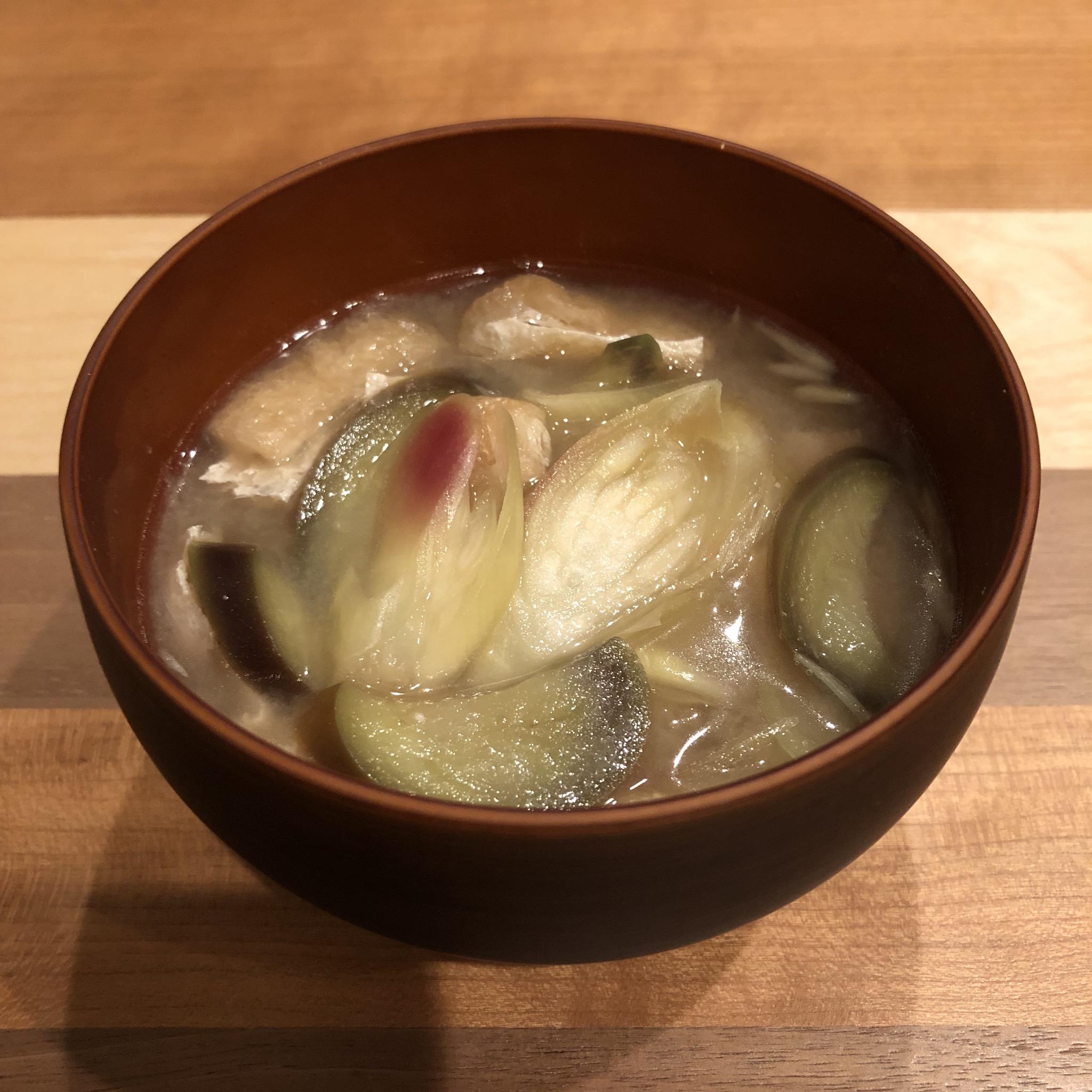 MYOGA GINGER miso soup