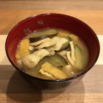 PORK CURRY miso soup