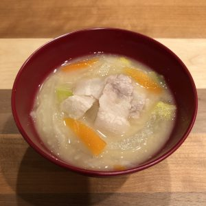AMAZAKE miso soup recipe