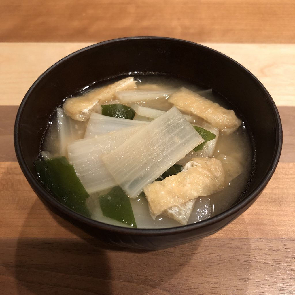 UDO miso soup recipe