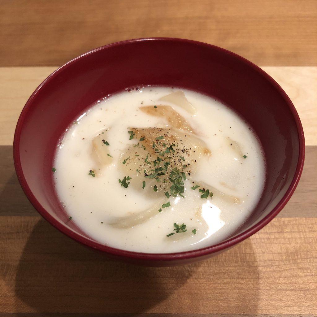 NEW ONION miso soup