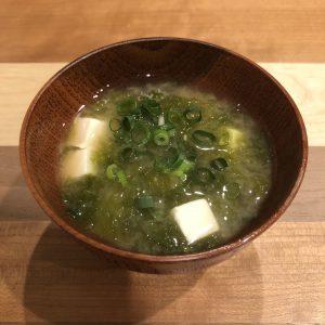 SEA LETTUCE miso soup recipe