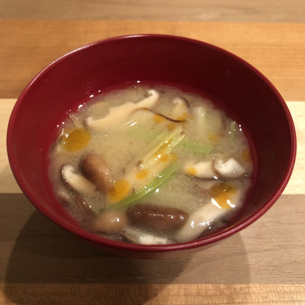 Chinese style miso soup
