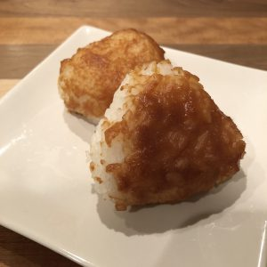 GRILLED RICE BALL WITH MISO RECIPE
