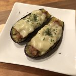 CHEESY EGGPLANT WITH MISO PORK RECIPE