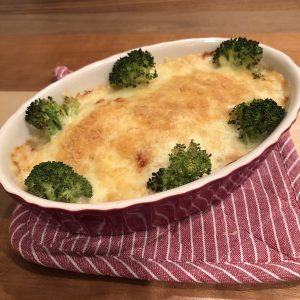 HEALTHY TOFU GRATIN RECIPE