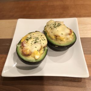 BAKED AVOCADO EGGS WITH MISO FLAVOR RECIPE