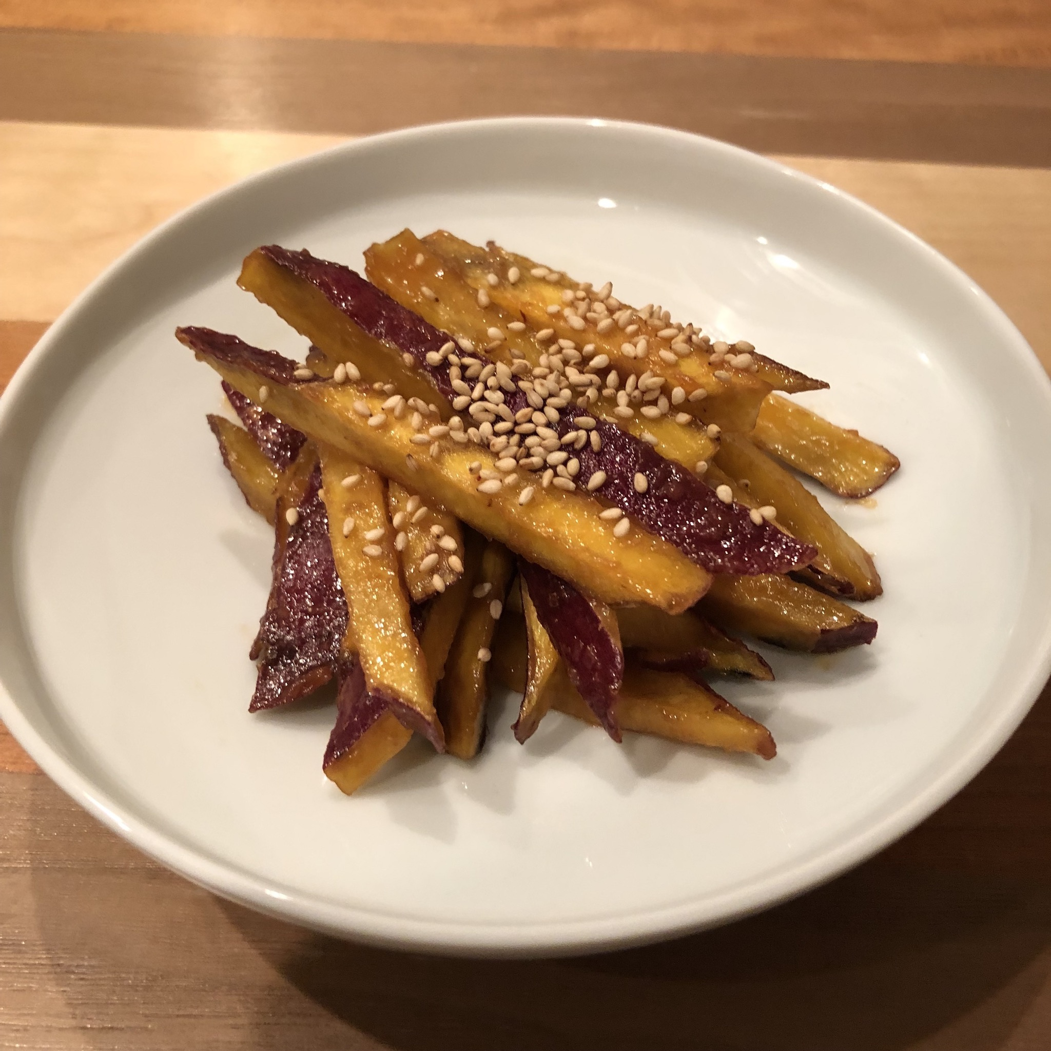 MISO BUTTER SWEET POTATO