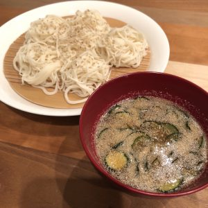 SESAME-MISO DIPPING SAUCE FOR COLD SOMEN NOODLES RECIPE