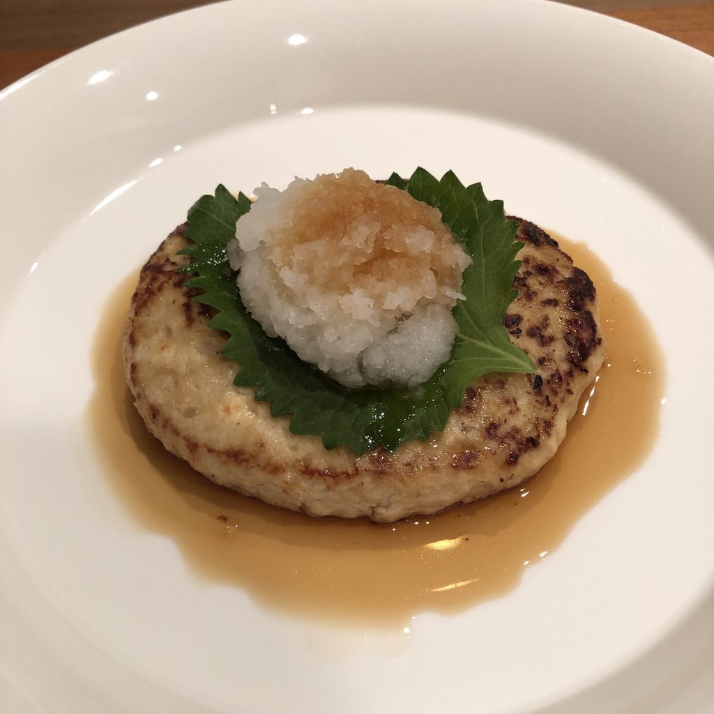 TOFU HAMBURG STEAK WITH MISO