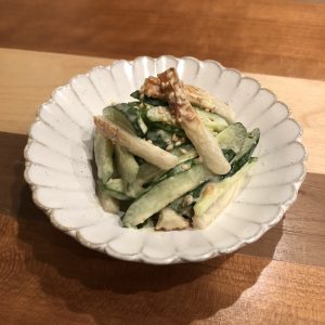 WASABI-MAYONNAISE SALAD WITH MISO RECIPE