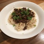DRY SOMEN NOODLES WITH MEAT MISO