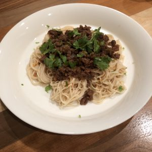 DRY SOMEN NOODLES WITH MEAT MISO RECIPE