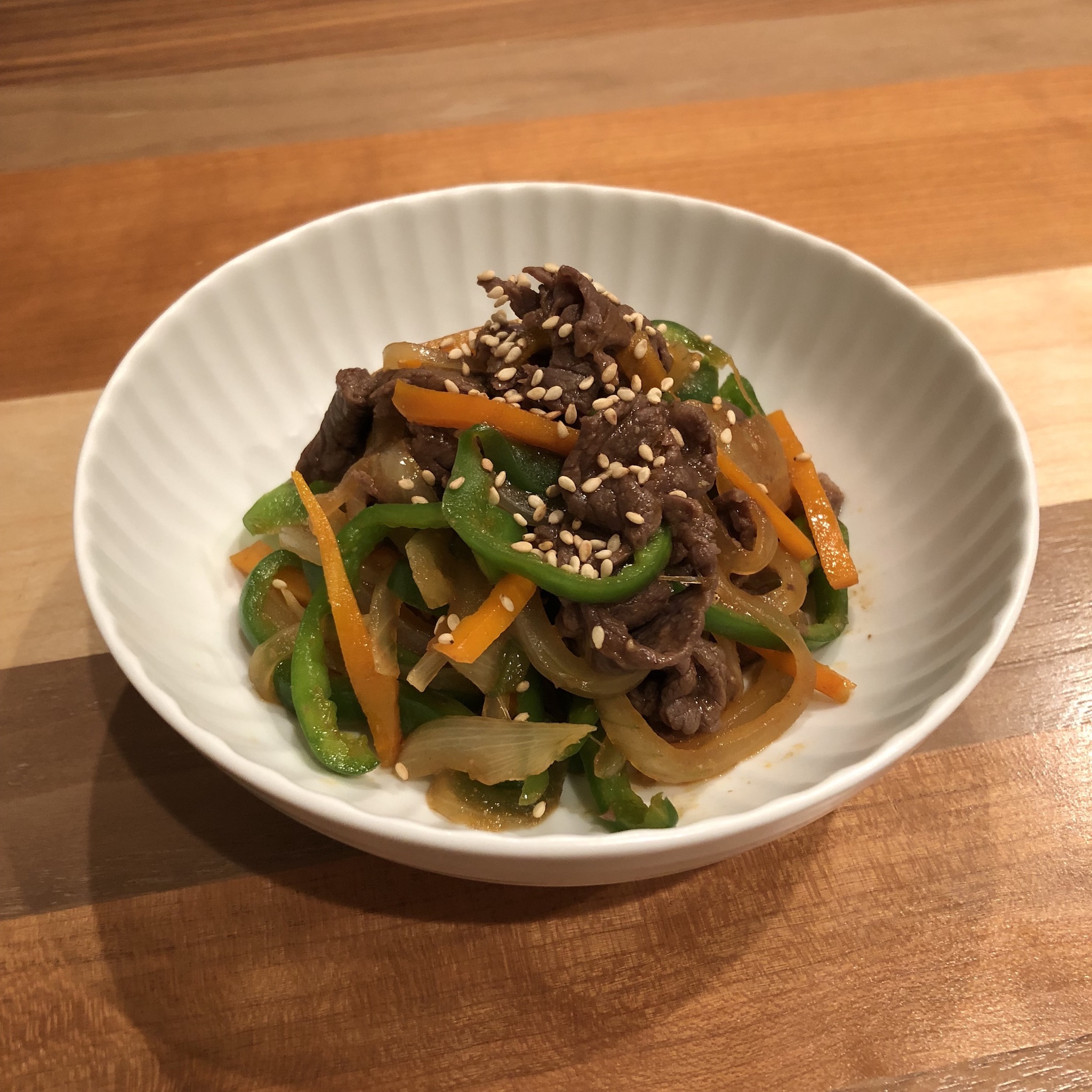 KOREAN BEEF BULGOGI WITH MISO