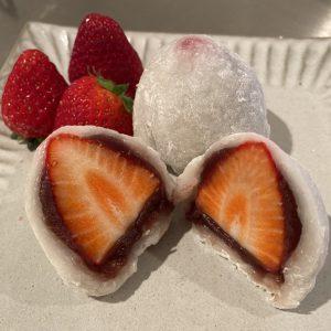 Strawberry DAIFUKU (Mochi) Recipe - Easy Microwave Hacks