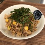 Japanese Mixed Rice with Canned Sardine and Corn