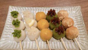 5 New Types of Dango (Sweet Japanese Dumpling Easy Recipes)